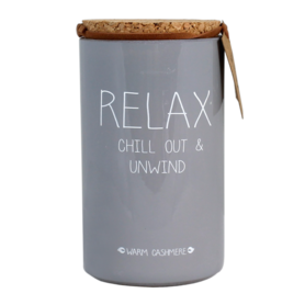 SOJAKAARS – RELAX, CHILL OUT AND UNWIND – GEUR: WARM CASHMERE