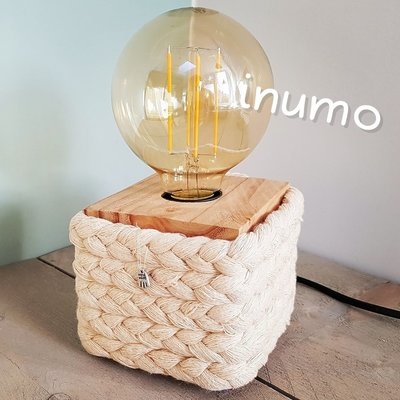 inumo BLOX small tafellamp Rope