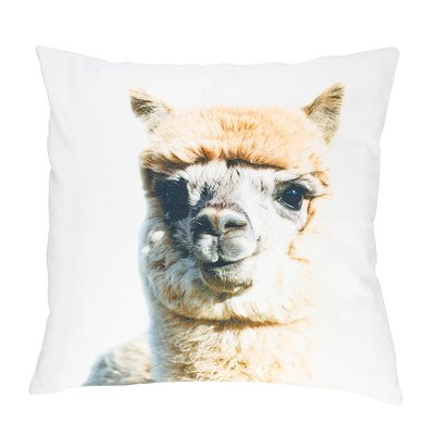 CANVAS KUSSEN BABY ALPACA GREY WIT