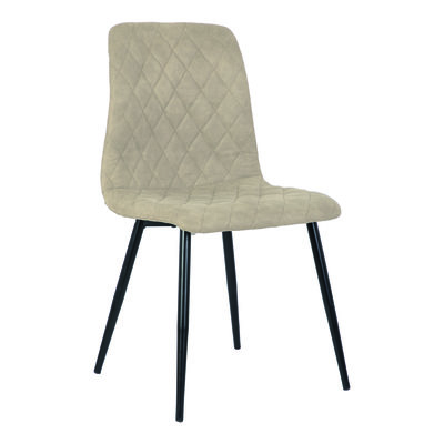 PTMD Dex cream immi Suede chair no arms